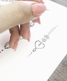 Unalome Tattoo Love