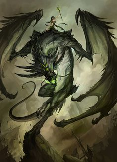 wyrm by sandara  also pinned as a wallpaper on my board.
