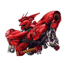 The Sazabi (aka Sazabi, is a mobile suit that appears in Mobile Suit Gundam: Char's Counterattack. It is piloted by Char Aznable. Gundam Head, Gundam 00, Battle Robots, Artists Like, Gundam Wallpapers, Gundam Mobile Suit, Nerd, Suit Of Armor, Gundam Model