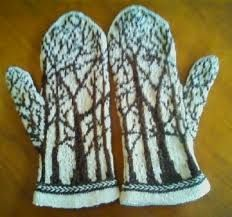 Bilderesultat for fair isle mittens pattern free