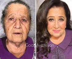 Makeup might not heal wounds but it can help people live with them. And that's exactly what Armenia-born and Moscow-based beauty guru Goar Avetisyan specializes Power Of Makeup, Beauty Makeup, Eye Makeup, Beauty Makeover, Face Makeover, Makeup For Older Women, Hollywood Star, Hollywood Makeup, Star Makeup