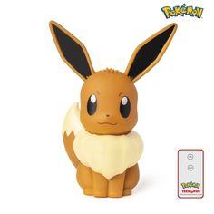 Eevee Light-up figurine Pikachu, Pokemon Eevee, Cute Pokemon, Lampe Led, Led Lamp, Night Light, Light Up, Soft Light, Decorative Items