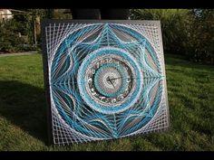 String Art DIY | Ideas, tutorials, free patterns and templates to make String Art - Part 22