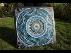 String Art by Aline Campbell - Timelaps - YouTube