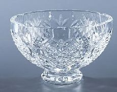 "Waterford crystal bowl - I have one similar in the ""Kildare"" patter. My Mom had the ""Lismore"" pattern."