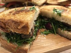 Steak sandwich with Argentina sues