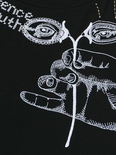 Maison Margiela embroidered top