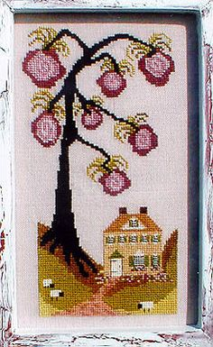 ru / Фото - By the Bay - natalytretyak Cross Stitch Embroidery, Cross Stitch Patterns, Cross Tree, Hand Stitching, Needlework, Seasons, Gallery, Seasons Of The Year, Log Projects