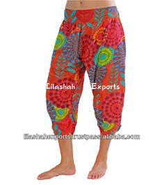 2842 Cotton Printed Short Trousers beachwear short pant Indu Hindu Ropa Wholesale sarouel Vetement Supplier India Pantalon