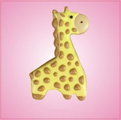 Cute Giraffe Cookie Cutter
