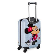 Every holiday's more fun when you travel with Mickey and Minnie. Now you can take happy memories of your tropical trip to Aulani A Disney Resort & Spa in Hawaii with you wherever you go with this hard shell rolling luggage. Disney Luggage, Mouse Icon, Mickey Minnie Mouse, Disney Style, Disney Inspired, Resort Spa, More Fun, Bag Accessories, Tropical