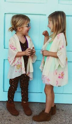 Mini kimonos - love!