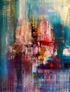 by Mo Tuncay - Overview Handmade item Dimensions: inches / Can you swim in colors :)) Buy Paintings, Original Paintings, A Level Art Sketchbook, Pour Painting, Painting Inspiration, Modern Art, Cool Art, Abstract Art, Sculpture