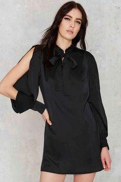 Nasty Gal Cosette Satin Dress