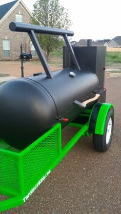 TS-250 Reverse Flow smoker with insulated firebox and insulated warming tower. #bbq #topshot #smoker