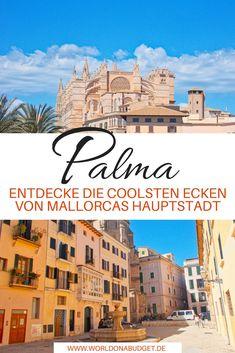 #Palma de #Mallorca an einem Tag erleben. Bei einem #Urlaub auf Mallorca darf ein Besuch des quirligen Palma einfach nicht fehlen. Wir zeigen dir in unserem #Travelguide die größten Highlights, versteckte Geheimtipps und leckere Streetfoodmärkte. Entdecke in unserem #Reisebericht Palma von seiner wilden Seite.