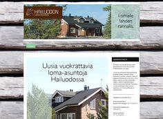 Heinäkuussa kotisivukilpailun voitti Hailuodon loma-asuntojen kotisivut. Kotisivuilla on tyylikkäät kuvituskuvat loma-asunnoista ja persoonalliset itse piirretyt pohjapiirrokset vuokrattavista kohteista. Taustakuva antaa sivuille eloisan tunnelman.
