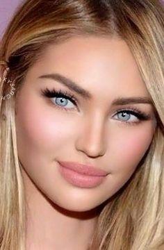 Most Beautiful Eyes, Lovely Eyes, Pretty Eyes, Gorgeous Women, Beauté Blonde, Blonde Beauty, Blonde Highlights, Bilal Hassani, Bridal Makeup Looks