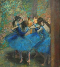 Degas - Danseuses Bleu 1893