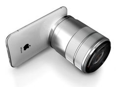 iPhone Pro with DSLR Lens