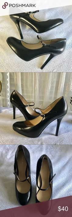 "Nine West Black Leather Maryjane Pumps New Black leather Maryjane pumps from Nine West. Never worn, new condition. 4"" heel. Nine West Shoes Heels"