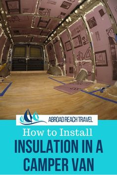 Van Life Discover How to Install Van Insulation - Abroad Reach Travel Step-by-step and video instructions for how to install van insulation for a Chevy Express camper van conversion. Chevy Express, Kombi Motorhome, Camper Trailers, Vw Camper, Travel Trailers, Camper Van Life, Build A Camper Van, Diy Van Camper, Diy Van Conversions