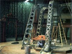 The 8th Doctor's Tardis console room. under construction...