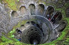 The Inverted Tower - Sintra, Portugal - Click image to find more Travel Pinterest pins