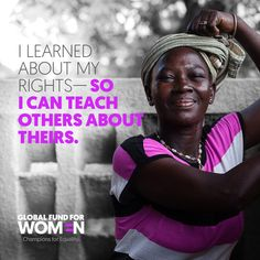 Yeri Sali is #determined to #endchildmarriage and female genital mutilation (#FGM) by teaching women about their #humanrights