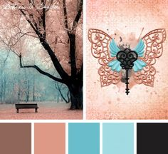 Find the balance between darkness and light with this Softness & Shadow color inspiration for your embroidery designs.
