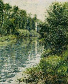 Gustave CAILLEBOTTE «Le Petit Bras de Seine, Argenteuil»