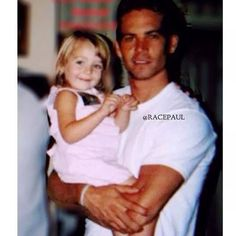Awww Paul and his niece! ♡