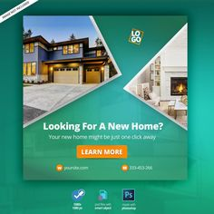 Real estate web banner Premium Psd | Free Psd #Freepik #freepsd #freebanner #freebusiness #freehouse #freetemplate Street Marketing, Guerilla Marketing, Food Graphic Design, Design Web, Layout Design, Real Estate Banner, Print Advertising, Advertising Campaign, Print Ads