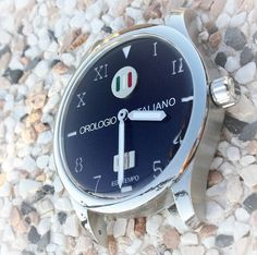 """Egotempo ...   Preludio with special dial """"orologio italiano"""" black color, 18k white gold and enamel plates applied on starry dial...  Preludio it is ready for you ...  www.egotempo.it https://instagram.com/egotempo/ https://twitter.com/EgotempoItalia"""