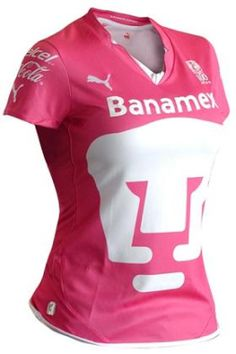 Camisetas: Pumas Viste De Rosa A Su Inchada CentralMODA.COM