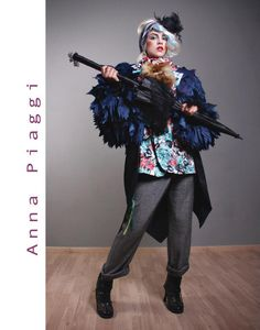 Fashion Icone :  Anna Piaggi