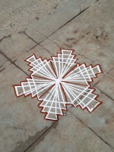 Rangoli Borders, Rangoli Border Designs, Rangoli Designs Diwali, Kolam Rangoli, Flower Rangoli, Easy Rangoli, Simple Rangoli Designs Images, Small Rangoli Design, Beautiful Rangoli Designs