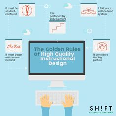 5 Golden Rules of High-Quality Instructional Design Infographic - http://elearninginfographics.com/5-golden-rules-of-high-quality-instructional-design-infographic/