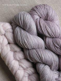 wool & yarn - natural dye with frozen sloe http://bottheka.com/en/prunus-spinosa - boil frozen sloe, dye, then wash dyed fabric 1st  in vinegar, then in laundry soap