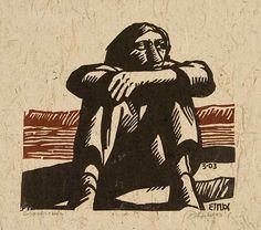Crossroads - woodcut 2003 - Peter Gourfain, U. Woodcut Art, Linocut Prints, Mad Men, Arte Grunge, Stamp Printing, Mural Painting, Botanical Illustration, Art Studios, Japanese Art