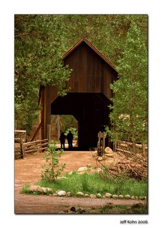 I made a watercolor painting of this lovely old covered bridge.
