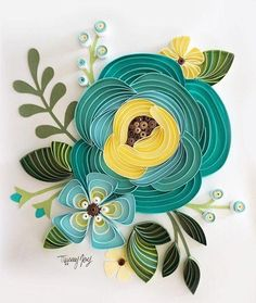 Step By Step Guide On How To Make Paper Quilling Flowers – Quilling Techniques Arte Quilling, Paper Quilling Flowers, Quilled Paper Art, Paper Quilling Designs, Quilling Paper Craft, Quilling Patterns, Quilling Ideas, Paper Quilling For Beginners, Quilling Techniques