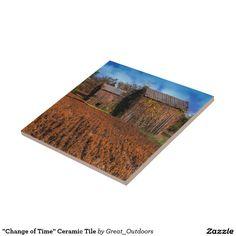 """Change of Time"" Ceramic Tile"