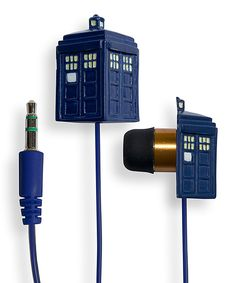 I can& hear you. These Doctor Who TARDIS Earbuds are louder on the inside! These Doctor Who TARDIS Earbuds will transport your ears through space and time and make your music sound great. Doctor Who Adipose, Doctor Who Tardis, 12 Doctor, Midtown Comics, Sounds Great, Torchwood, Matt Smith, Shows, Dr Who