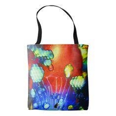 "For a psychedelic outing, a Kinetic Collage ""Sweet Dreams"" light show photo tote. You will be feelin' groovy with this trippy tote. Load it up with all your paraphernalia plus munchy treats for the festival.Over 3000 products at my Zazzle online store. Open 24/7  World wide! Custom one-of-a-kind items shipped to your door. This art is exclusively @  http://www.zazzle.com/greg_lloyd_arts*?rf=238198296477835081"