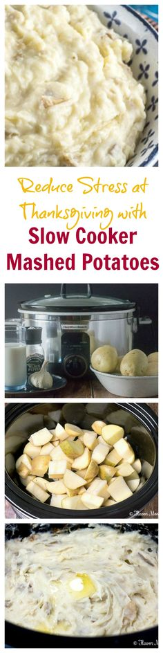 Make Thanksgiving dinner easy this year by making these Slow Cooker Mashed Potatoes to allow you to make them ahead of time and to free up valuable oven space. @eBay #eBayGuides #CleverGuides #ad