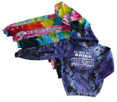 Volleyball Tie Dye Sweatshirt - Bump, Set, Spike Logo
