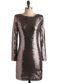 2. #Celebration in Tinsel Town Dress - 8 #Gorgeous Sequined #Dresses ... → #Fashion #Modcloth