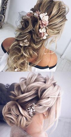15 Fabulous Wedding Hairstyles Trends for 2018. Various ideas of wedding and bridal hairstyles for women in 2018. If you are looking for trendy and timeless wedding hairstyles in these days then must visit here to see our great collection of wedding haircuts. Get inspired by these fabulous ideas of wedding hair looks that will really make you look cute and sexy. #weddinghairstyles