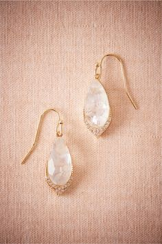 BHLDN Moonscape Drops in  Shoes & Accessories Jewelry at BHLDN